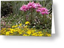 Moms Garden Greeting Card
