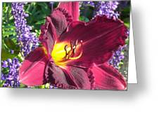 Mom's Lilly Greeting Card
