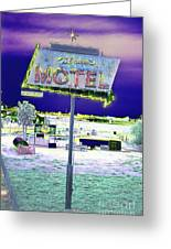 Mom's Motel Greeting Card