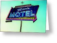 Mom's Motel Greeting Card
