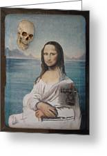 Mona In Playa Greeting Card