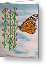 Monarch Heaven Greeting Card