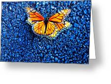 Monarchs Mating Greeting Card