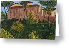 Monastero Greeting Card