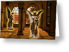 Monastery Angles Greeting Card