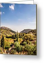 Monastery At Valldemossa View 2..... Greeting Card