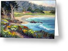 Monastery Beach, Carmel Greeting Card