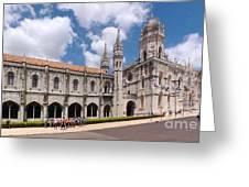Monastery Of The Hieronymites Lisbon 5 Greeting Card