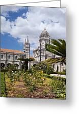 Monastery Of The Hieronymites Lisbon 6 Greeting Card