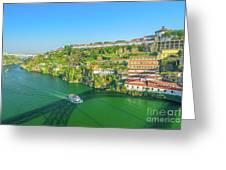 Monastery Serra Do Pilar Greeting Card