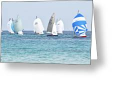 Mondello Race Greeting Card