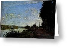 Monet Argenteuil  Greeting Card