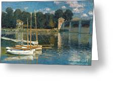 Monet: Argenteuil Greeting Card