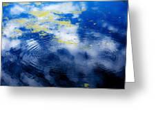 Monet Like Water Greeting Card