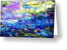 Monet Magic Greeting Card