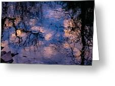 Monet On The Water Greeting Card