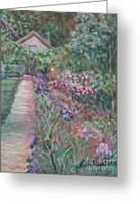 Monet's Gardens Greeting Card