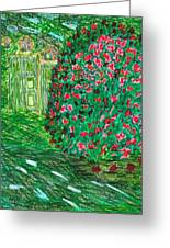 Monet's Parc Monceau Greeting Card