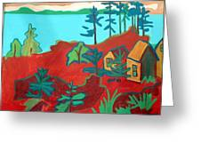 Monhegan Hue Greeting Card