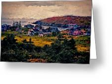 Monhegan Island Maine Greeting Card