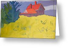 Monhegan Light Greeting Card