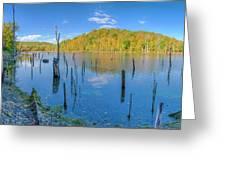 Monksville Reservoir Fall 2016 Greeting Card