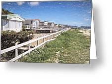 Monmouth Beach - Impressions Greeting Card