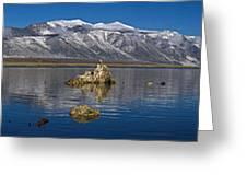 Mono Lake Pano Greeting Card