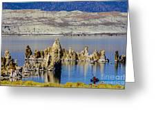 Mono Lake Spires Greeting Card