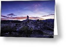 Mono Lake Sunset 4 Greeting Card