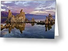 Mono Lake Sunset Greeting Card