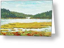Monomoy River Greeting Card