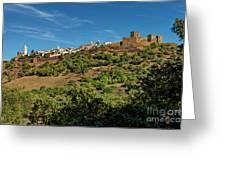 Monsaraz Medieval Town, Portugal Greeting Card