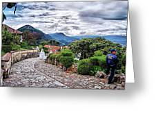 Monserrate - Colombia Greeting Card
