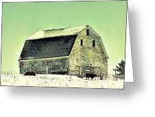 Monster Barn Greeting Card