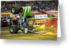 Monster Jam 2 Greeting Card