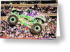 Monster Jam Orlando Fl Greeting Card