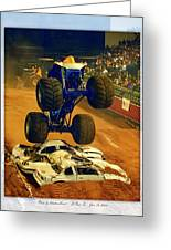 Monster Truck 1a Greeting Card