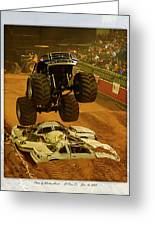 Monster Truck 2a Greeting Card
