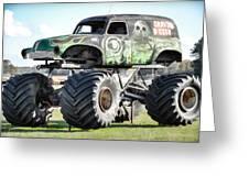 Monster Truck 4 Greeting Card