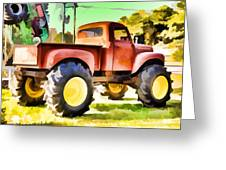 Monster Truck - Grave Digger 1 Greeting Card