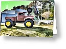 Monster Truck - Grave Digger 2 Greeting Card