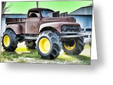 Monster Truck - Grave Digger 3 Greeting Card