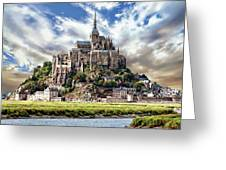 Mont Saint-michel Greeting Card