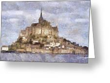 Mont Saint-michel, Normandy, France Greeting Card