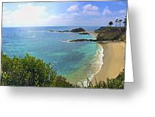 Montage Beach, Laguna Greeting Card