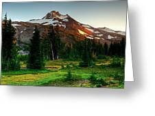 Montain Greeting Card