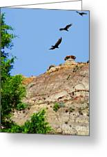 Montana Badlands ... Montana Art Photo Greeting Card