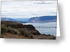 Montana Bridge Greeting Card