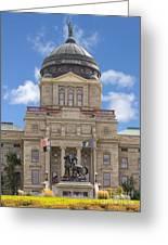 Montana Capitol Building Greeting Card